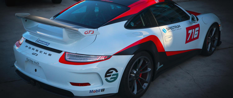 Porsche GT3 Custom Wrap