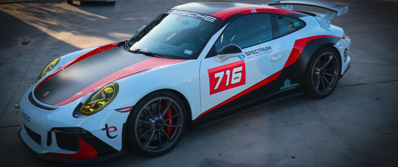 Vinyl Wrap Porsche GT3