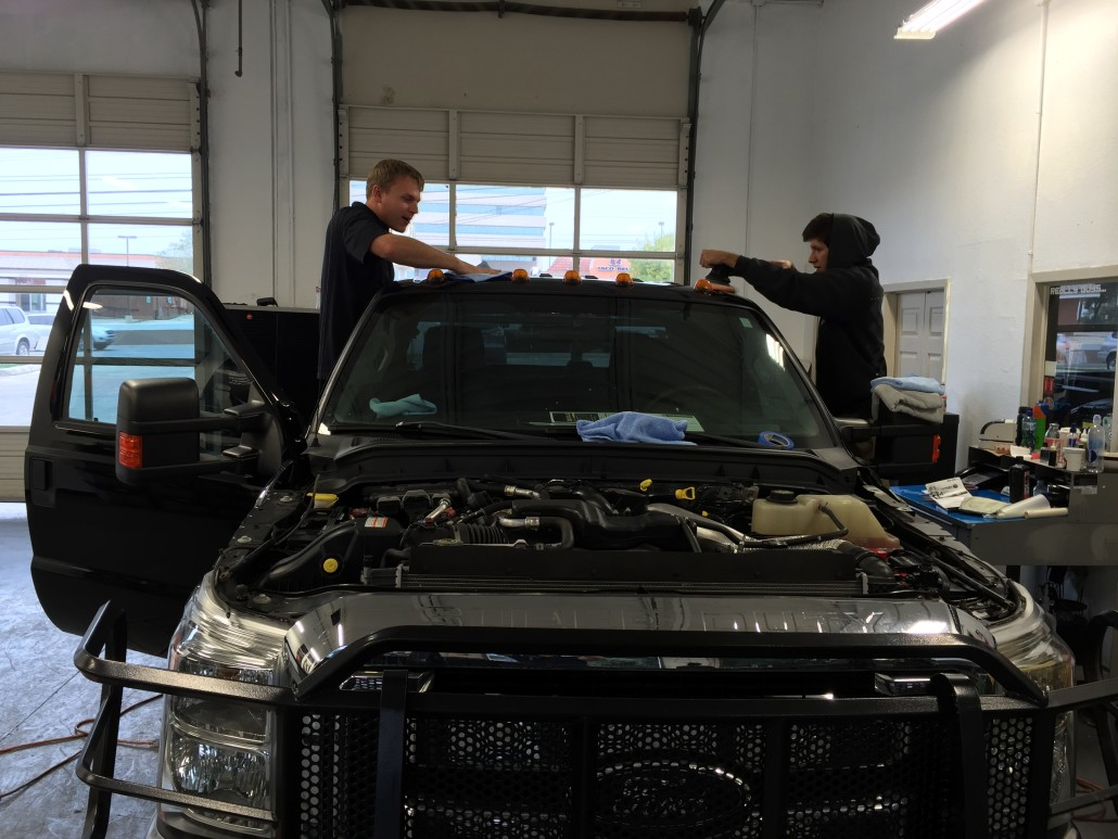 Ford Superduty Detailed, Dents Removed And Protected With