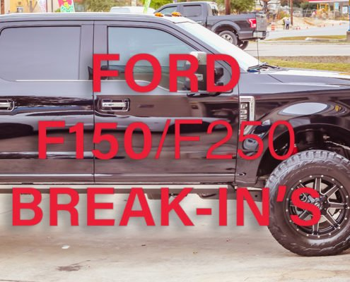 Stop Ford Truck Break-ins